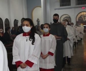 Missa Solene em honra a São Francisco de Assis